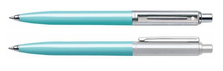 321 BP Długopis Sheaffer Sentinel turkusowy, wykończenia niklowane
