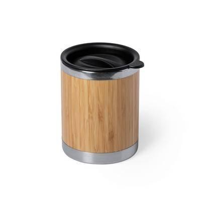 Bambusowy kubek podróżny 250 ml