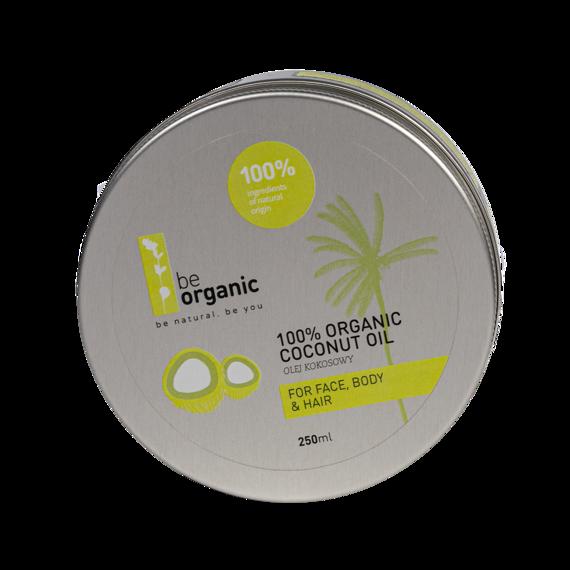 Be Organic 100 % Organiczny Olej kokosowy
