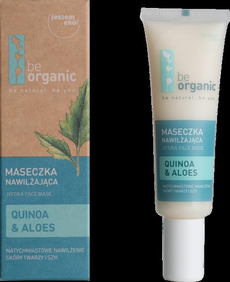 Be Organic Maseczka nawilżająca Quinoa & Aloes