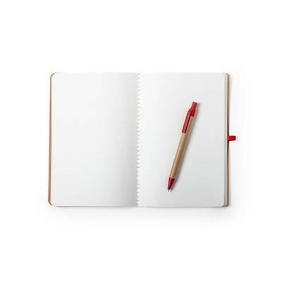 Notatnik A5 z długopisem